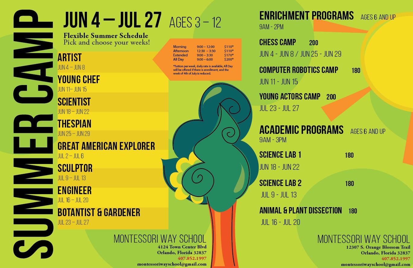 Summer Camp - Montessori Way School